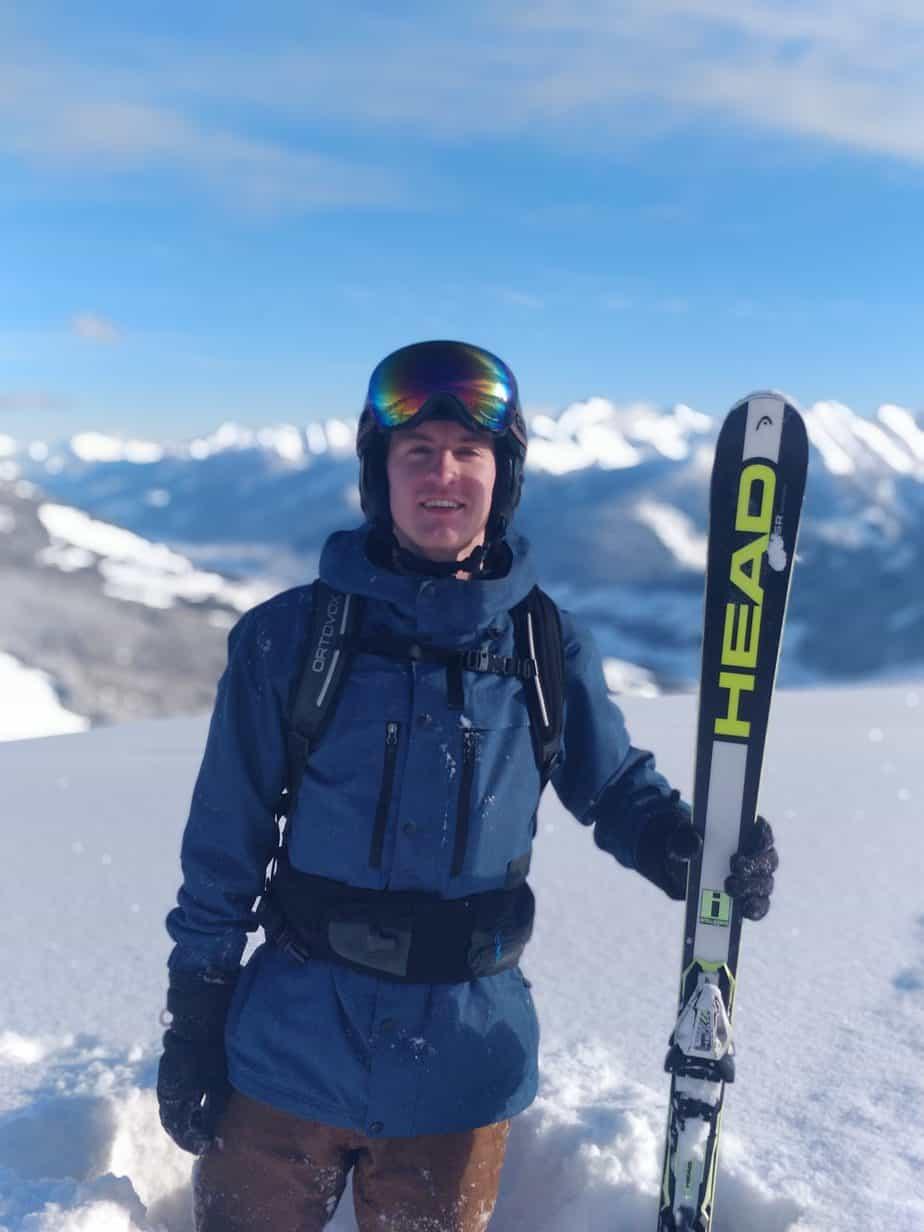 Jaap Habraken, reisgids skihuttentocht groepsreizen voor wintersporters in Oostenrijk