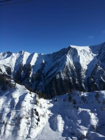 Bergen uitzicht Ellmau skitocht