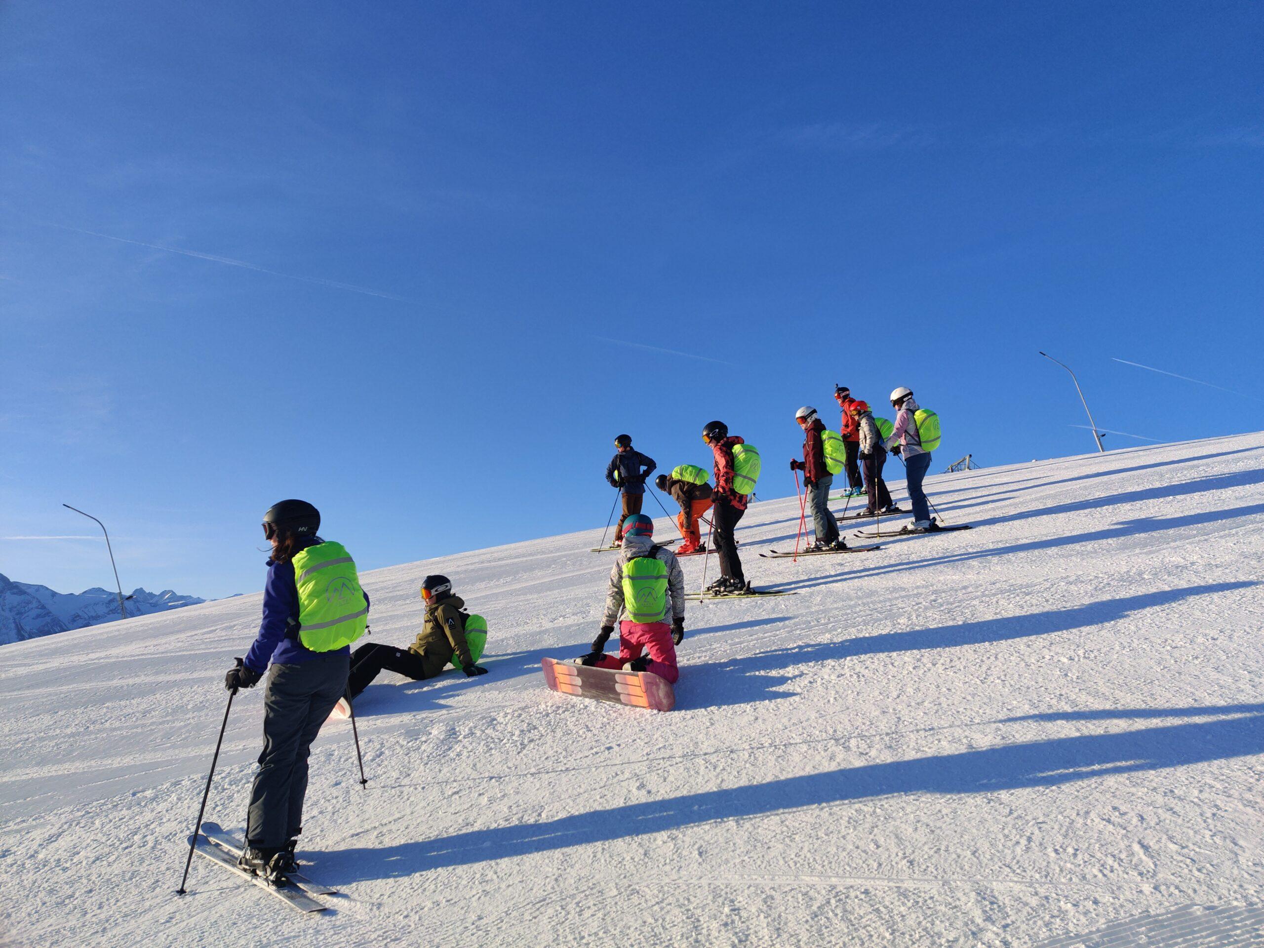 Groep 2 tijdens Alpex Skitochten
