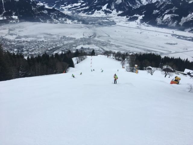 Erste Spur bij Alpex Skitochten