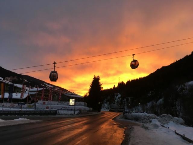 skigondels in Saalbach
