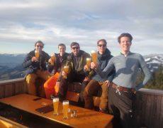 Biertje Alpenrosehutte